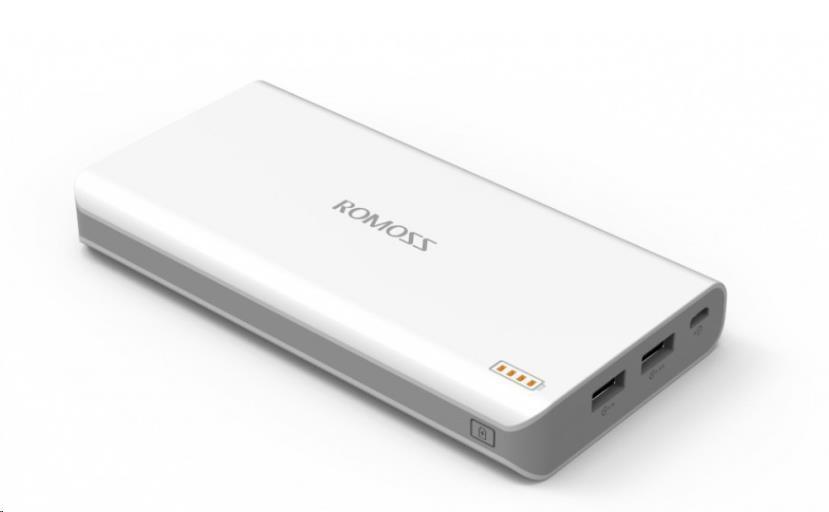 PowerBank ROMOSS polymos 20000mAh, white