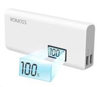 PowerBank ROMOSS solo 5 plus 10000mAh, white