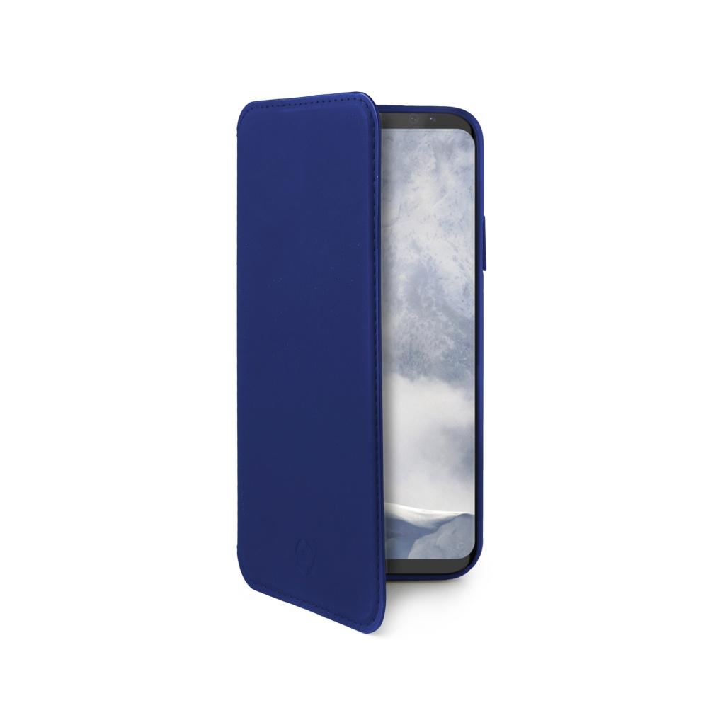 CELLY Prestige pouzdro flip Samsung Galaxy S9 blue