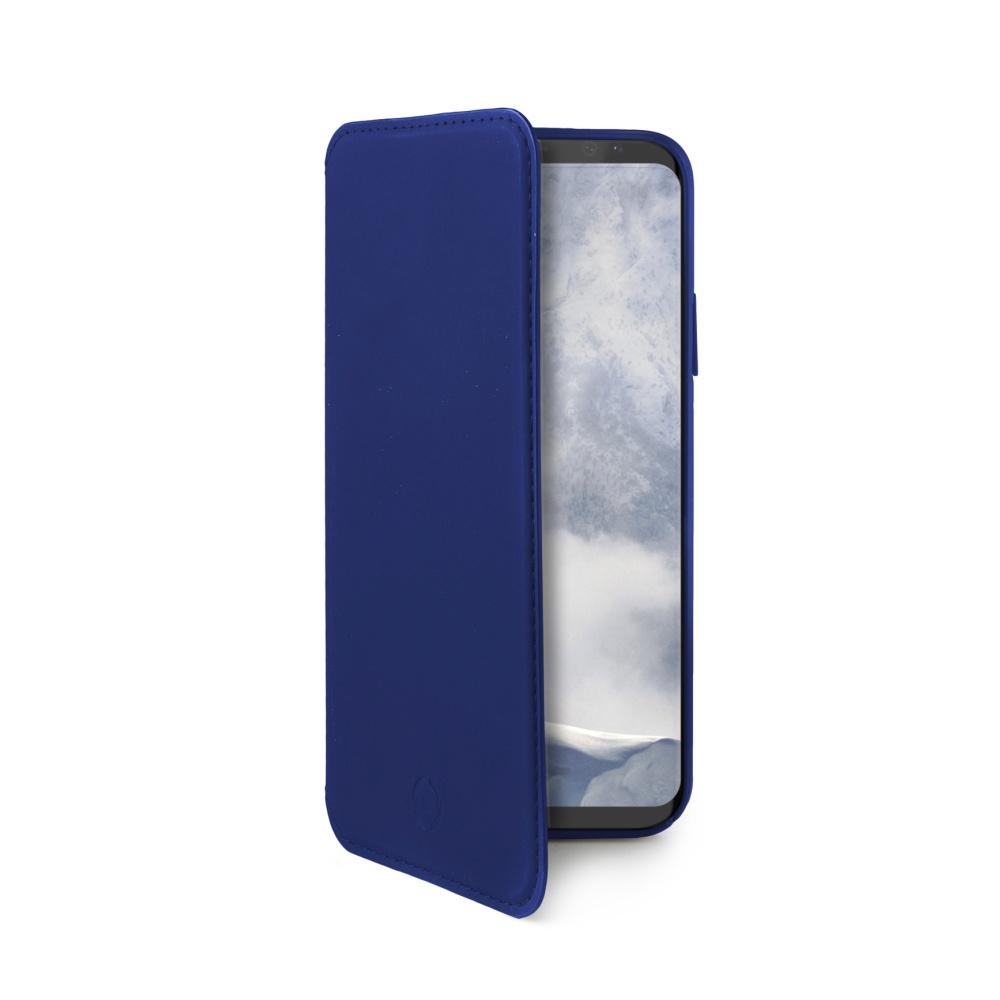 CELLY Prestige pouzdro flip Samsung Galaxy S9 PLUS blue