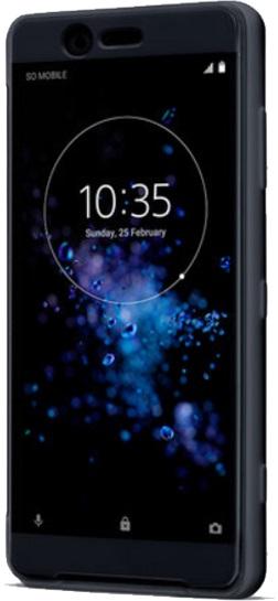 Sony Style Cover Touch SCTH40 pouzdro flip Sony Xperia XZ2 black