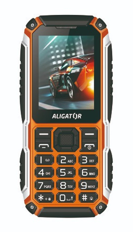 Aligator R30 eXtremo Black / Orange