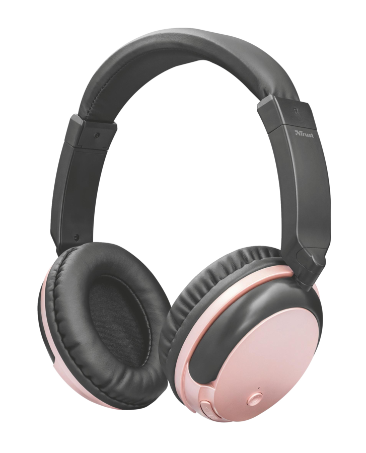 TRUST Kodo Wirelles Headphones rose gold