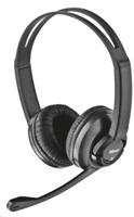 TRUST Zaia headset náhlavní sada black