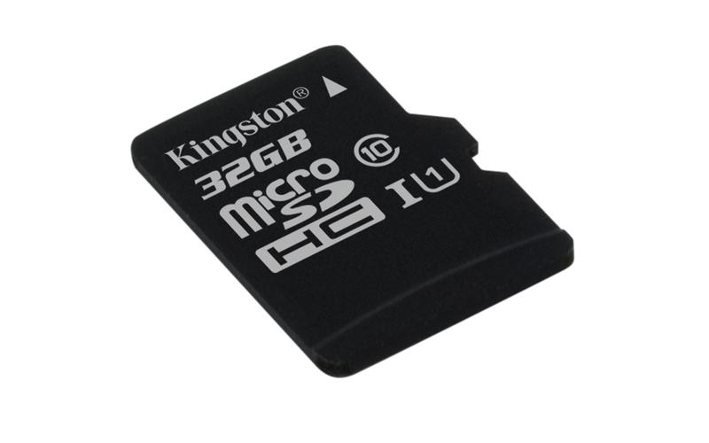 Paměťová karta Kingston CL10 32GB microSDHC, UHS-I 80R/10W