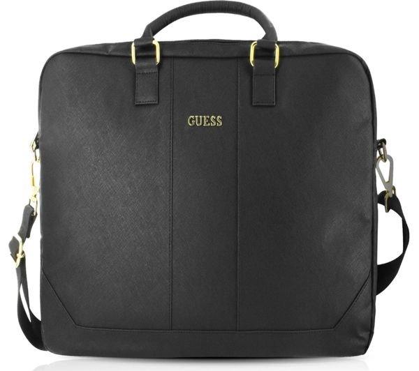 """Guess Saffiano Look Computer Bag GUCB15TBK 15"""" black"""