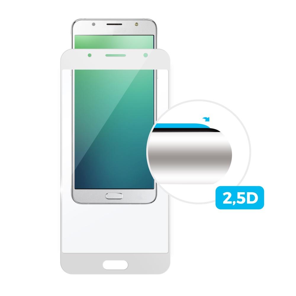 Tvrzené sklo FIXED Full-Cover pro Sony Xperia XZ1 Compact, white