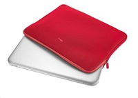 """TRUST Primo Soft Sleeve pouzdro na notebook 17.3"""" red"""