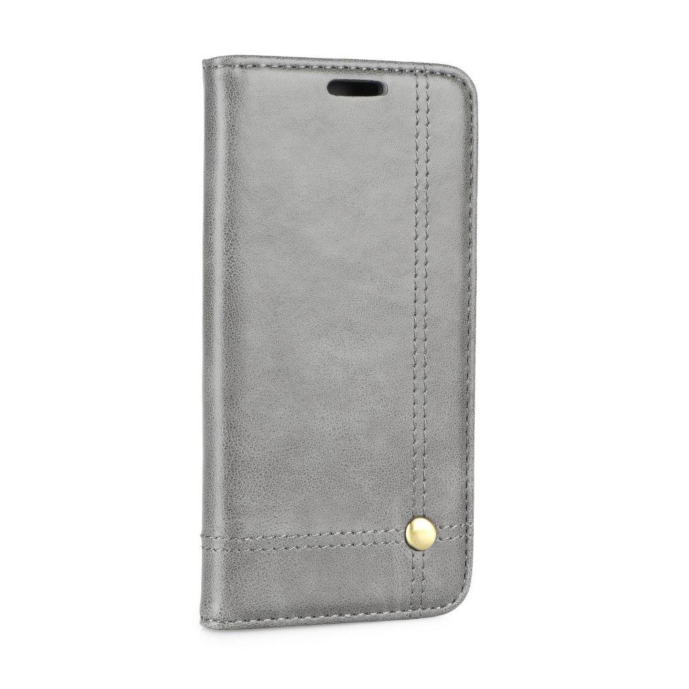 Forcell Prestige flipové pouzdro Apple iPhone X grey