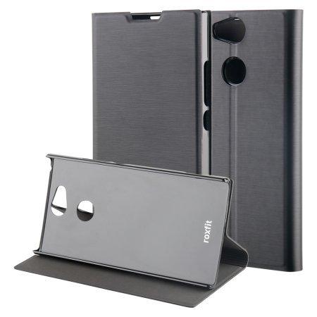 Roxfit Standing pouzdro flip URB5178B Sony Xperia XA2 black