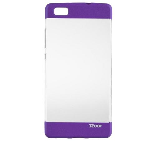 Kryt ochranný Roar Plating pro Huawei P8 Lite, fialová