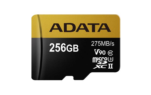 Paměťová karta ADATA 256GB MicroSDXC, class 10, UHS-II U3
