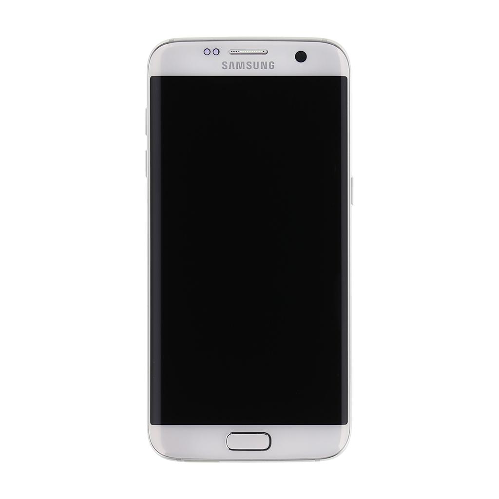 LCD + dotyk + př. kryt + baterie pro Samsung Galaxy S7 Edge, white (Service Pack)