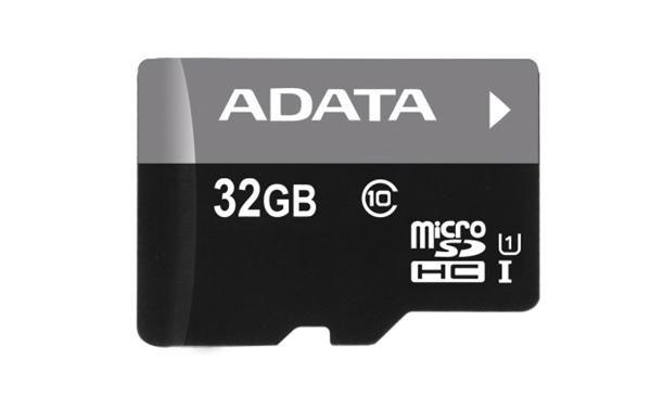 Paměťová karta ADATA MicroSDHC 32GB, U3 V30S, class 10 s adaptérem