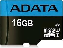 Paměťová karta Micro ADATA MicroSDHC 16GB, UHS-I, class 10