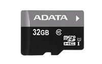 Paměťová karta ADATA MicroSDHC 16GB Premier, UHS-I, class 10 s adaptérem