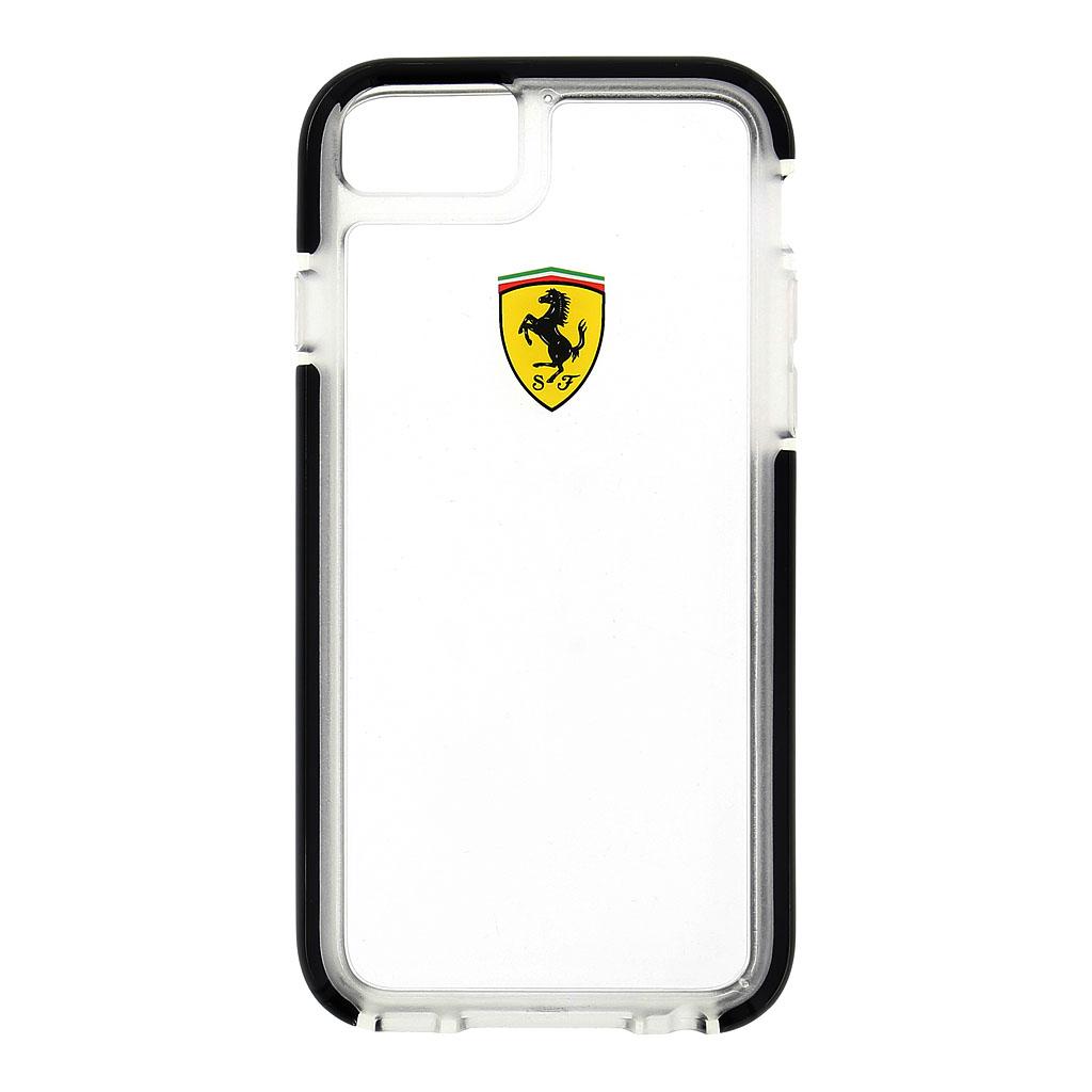 FEGLHCP6BK Ferrari pouzdro pro iPhone 6/6S, Transparent/Black