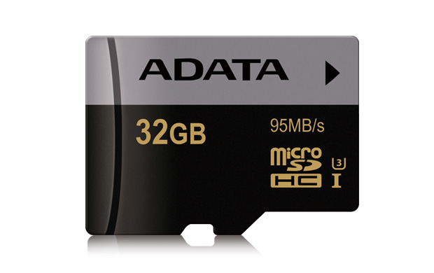 Paměťová karta ADATA MicroSDHC 32GB, UHS-I U3, class 10