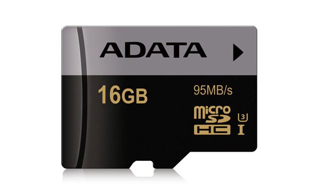 Paměťová karta ADATA MicroSDHC 16GB, UHS-I U3, class 10