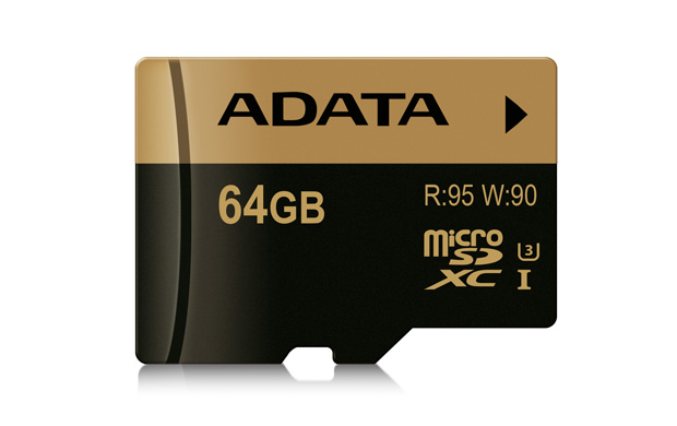 Paměťová karta ADATA MicroSDXC 64GB, UHS-I U3, class 10
