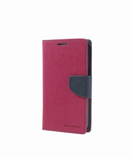 Flipové pouzdro Fancy Diary pro HTC M7, pink - VÝPRODEJ!!