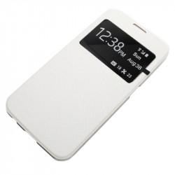 Flipové pouzdro S-View Flexi s okýnkem pro HTC 620, white - VÝPRODEJ!!