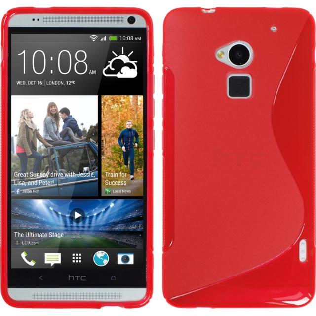 Ultra Slim S Case pro HTC M7 / 810E, red - VÝPRODEJ!!