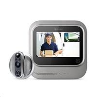"""Veria Wi-fi digitální video dveřní kukátko 5"""" LCD displej, stříbrná"""
