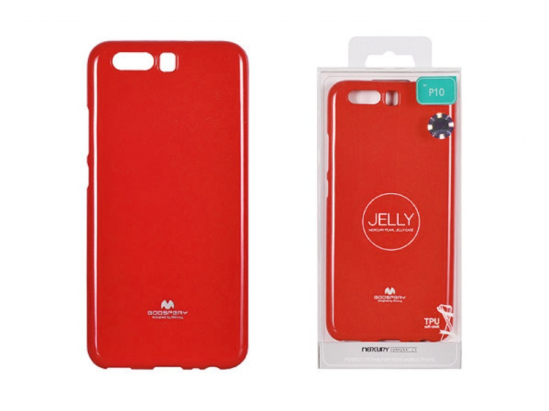 Pouzdro Mercury Jelly Case pro Huawei P20 Lite Red