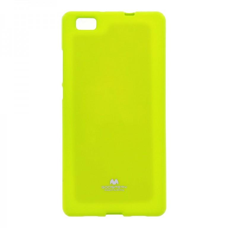 Pouzdro Mercury Jelly Case pro Huawei P20 Lite Lime