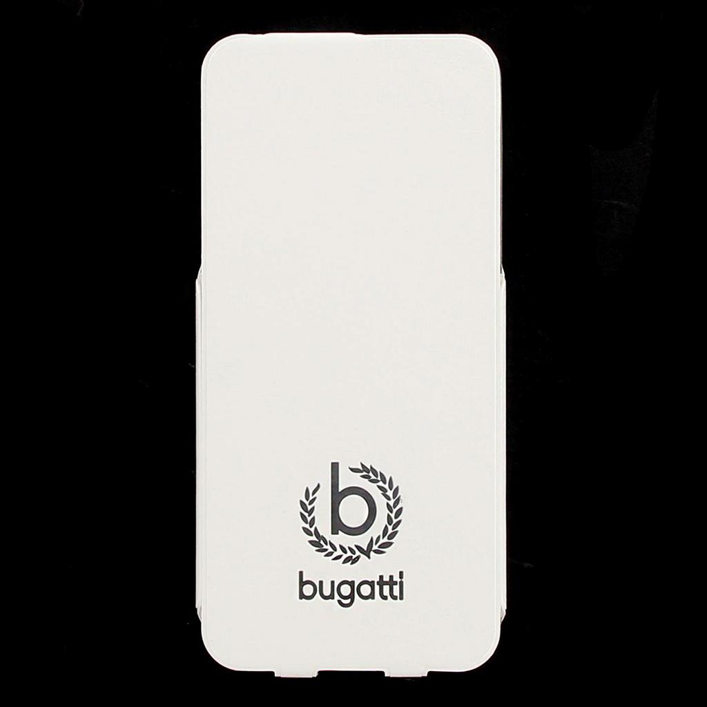 Bugatti Geneva Flip Pouzdro pro iPhone 5/5S/SE White