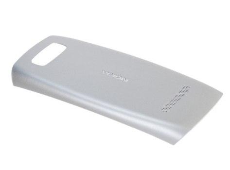 Zadní kryt baterie na Nokia 305, 306 Asha, silver