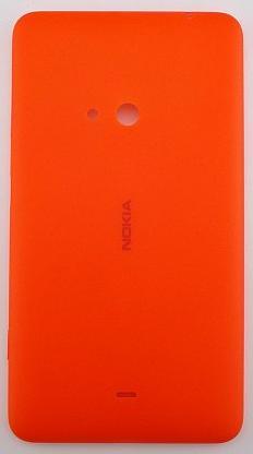 Zadní kryt baterie na Nokia C2-00, red