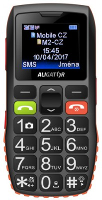 Seniorský telefon Aligator A440