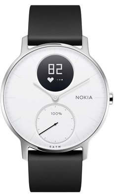 Nokia Steel HR 36mm Black-White