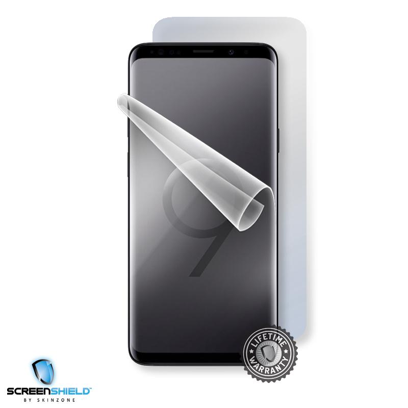 Ochranná fólie Screenshield™ pro Samsung Galaxy S9, na celé tělo