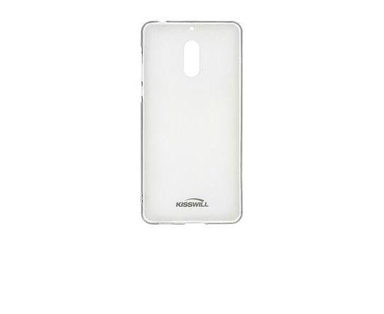 Silikonové pouzdro Kisswill pro Lenovo Moto G6, Transparent