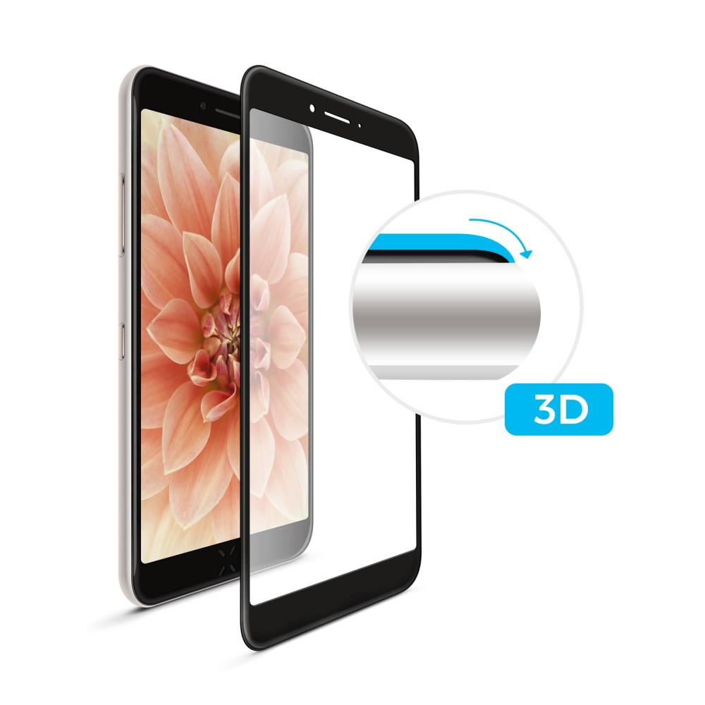Tvrzené sklo FIXED Full-Cover pro Huawei P10 lite, black s lepením přes celý displej