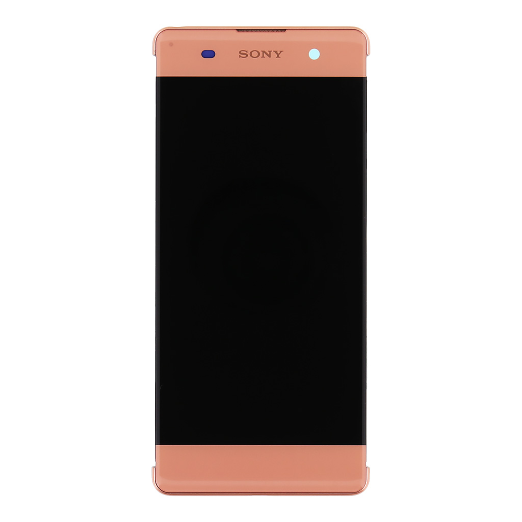 LCD + dotyk + pro Sony Xperia XZ2, pink (Service Pack)