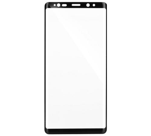 Tvrzené sklo Blue Star PRO pro Samsung Galaxy Note 8, Full face, black, menší