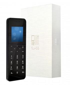 Tlačítkový telefon Pelitt Glass
