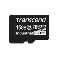 Paměťová karta TRANSCEND Industrial MicroSDHC 10I, class 10, 16GB (bez adaptéru)