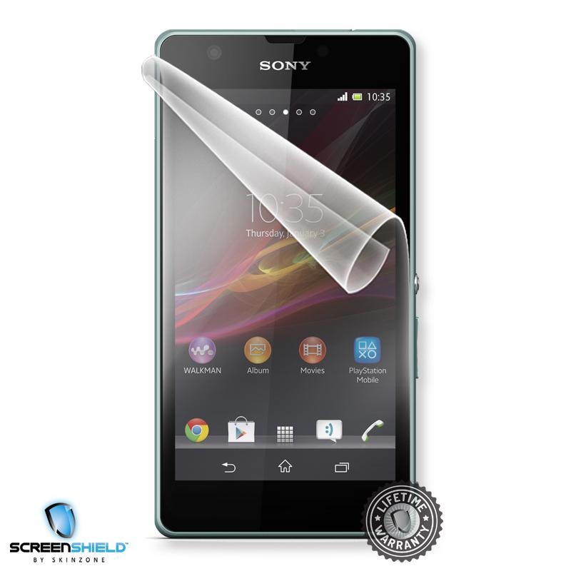 Ochranná fólie Screenshield™ pro Sony Xperia ZR