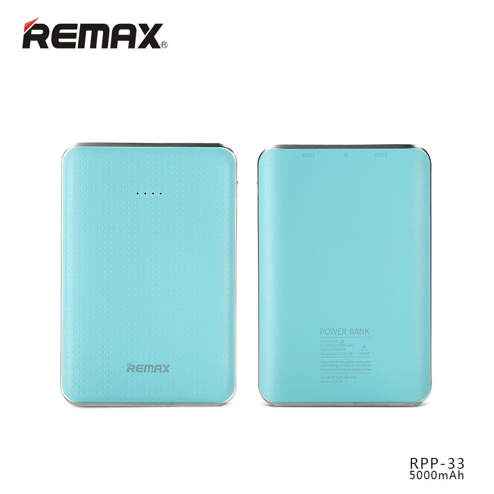 PowerBank Remax Tiger 5000mAh Li-Pol, blue (EU Blister)