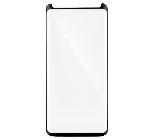 Tvrzené sklo Blue Star PRO pro Samsung Galaxy S9, Full face, plné lepení, menší, black