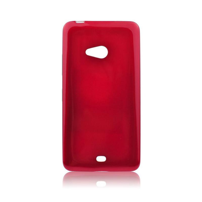 Pouzdro Mercury Jelly Case pro Huawei Y7 Prime 2018 Red