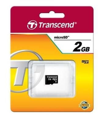 Paměťová karta Transcend Micro SD 2GB class 2