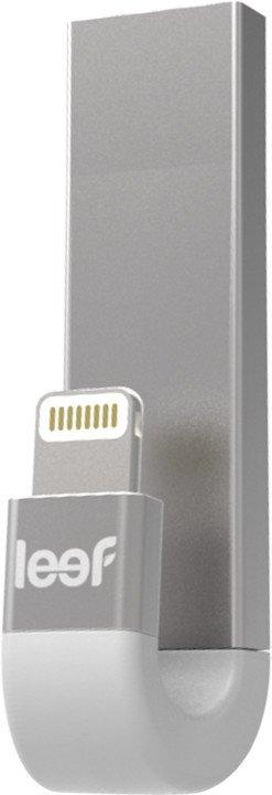 OTG Flash disk Leef iBridge 3 128GB Ligtning/USB 3.1 bílá/stříbrná