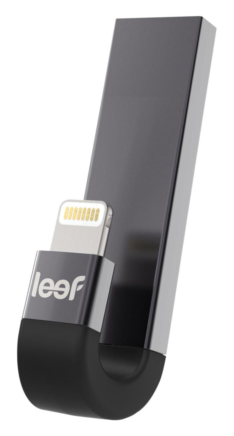 OTG Flash disk Leef iBridge 3 64GB Ligtning/USB 3.1 černá/stříbrná