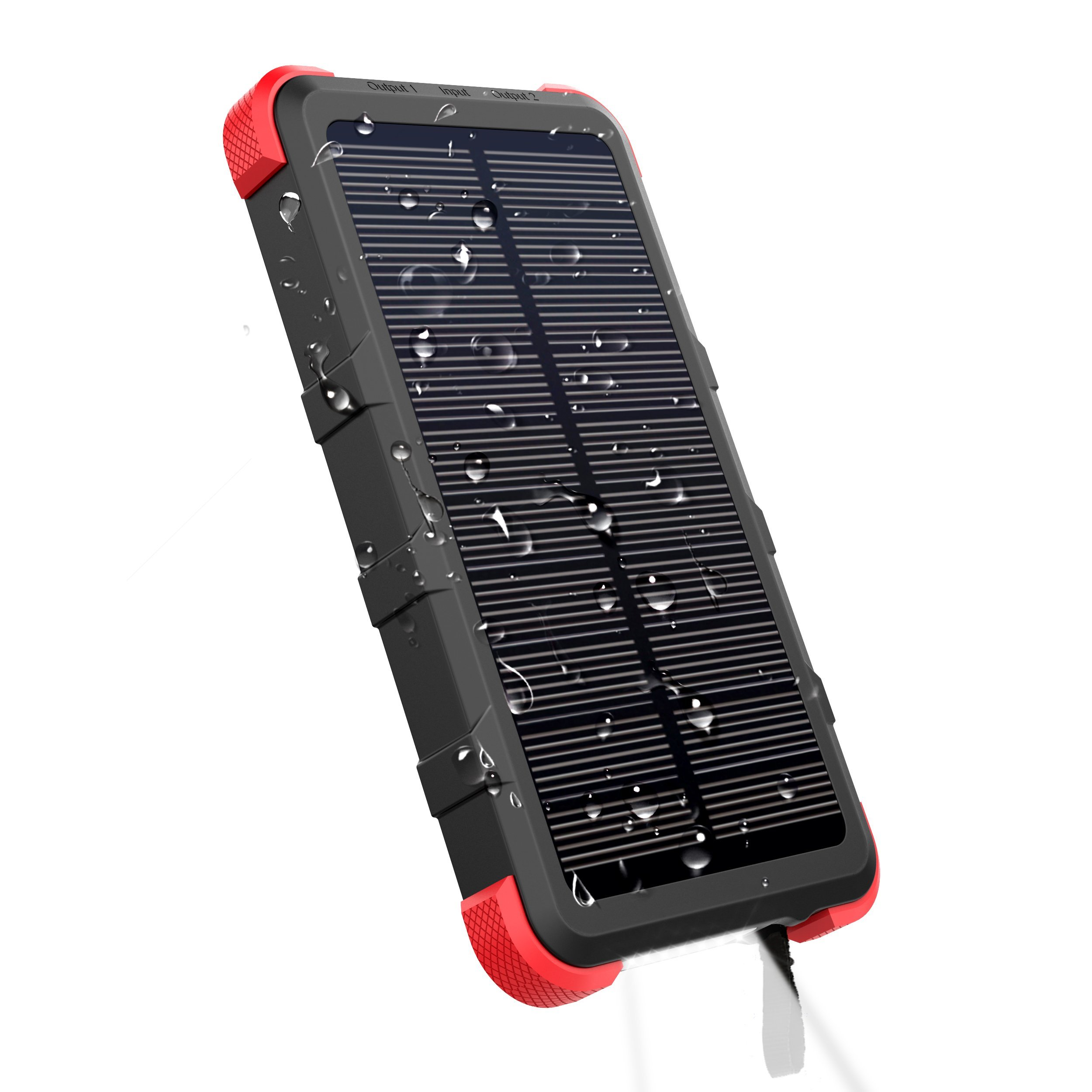 Solární powerbanka OUTXE PCB20000WS Savage QuickCharge 20000mAh